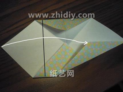 折纸盒大全之八边形手工折纸盒子图解教程